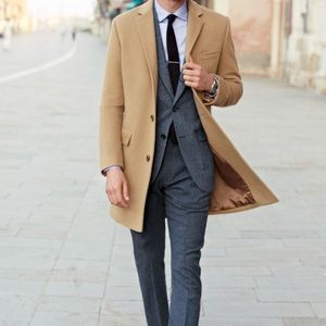 Jcrew Mens wool/Cashmere Coat